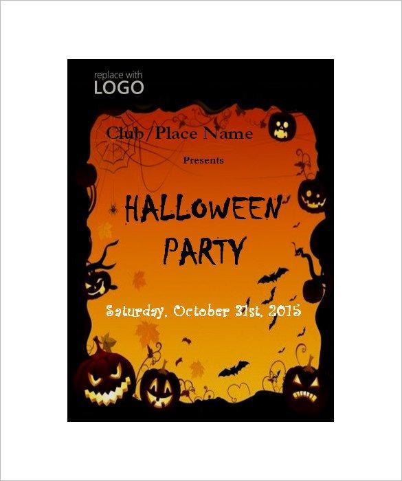 Halloween Templates for Word 50 Microsoft Invitation Templates Free Samples