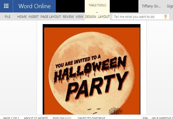 Halloween Templates for Word Halloween Flyer Word Template