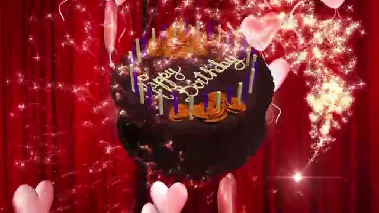 Happy Birthday 3d Images Happy Birthday Animation 3d Hd Motion Graphics Background