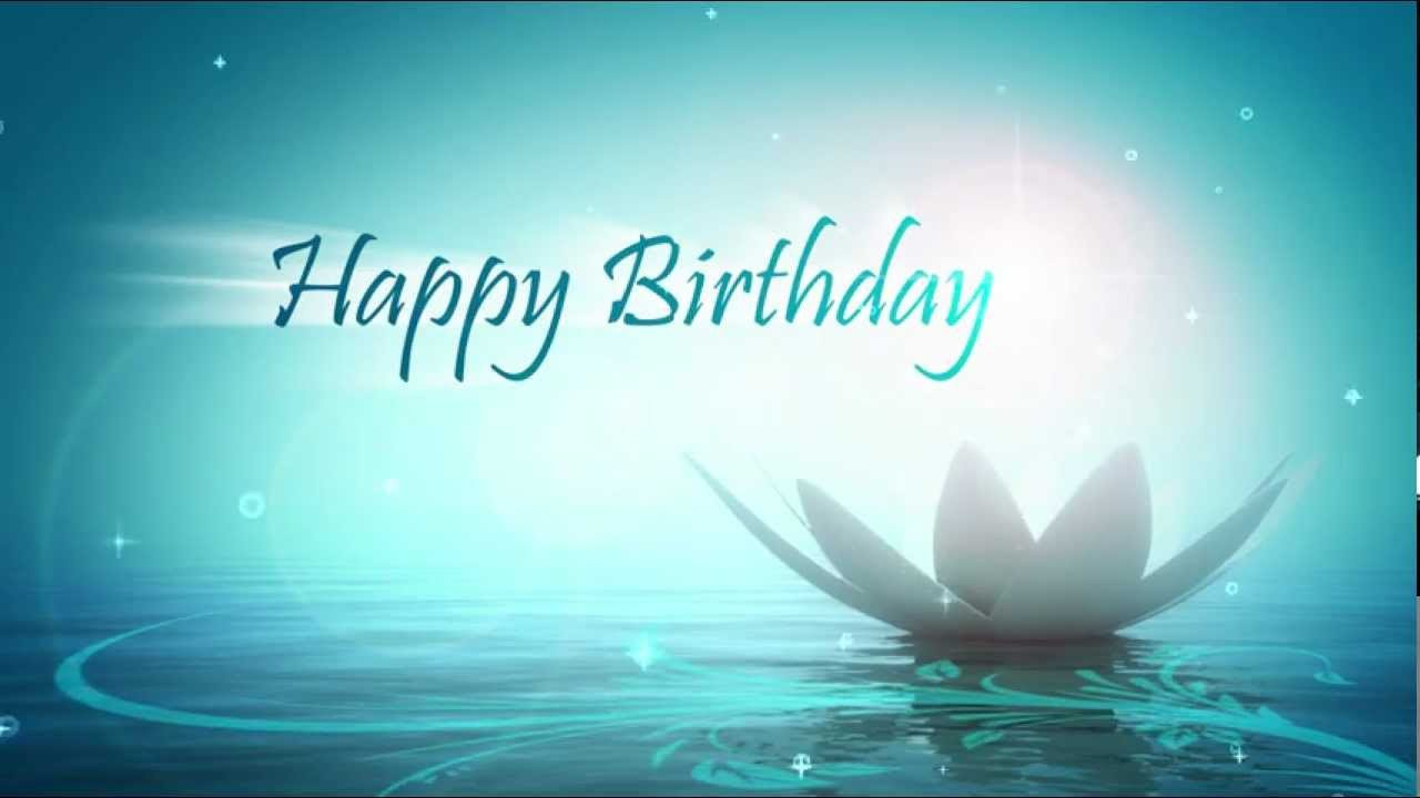 Happy Birthday 3d Images Happy Birthday Motion Graphics Animation