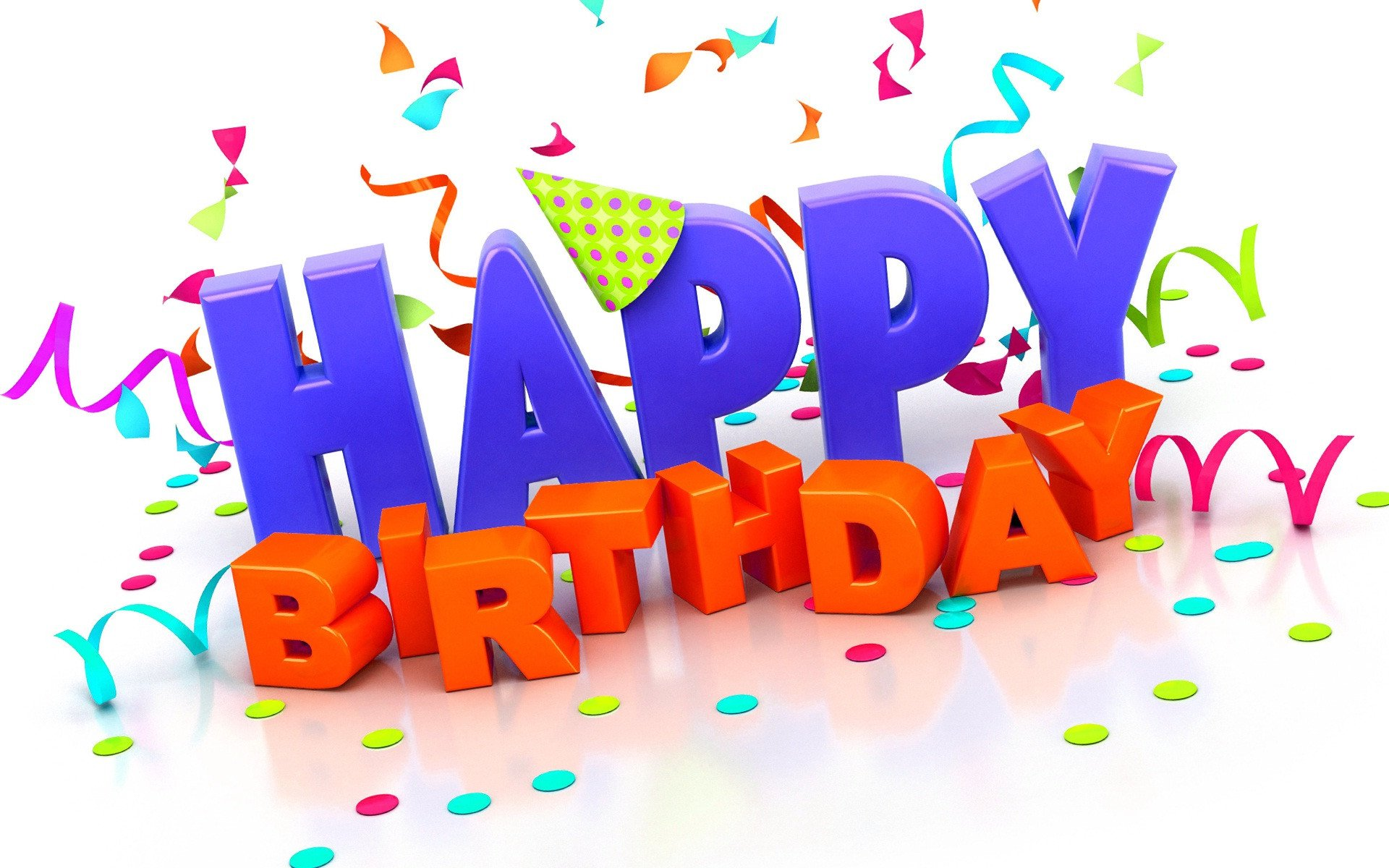 Happy Birthday 3d Images Happy Birthday Wishes 3d Wallpapers