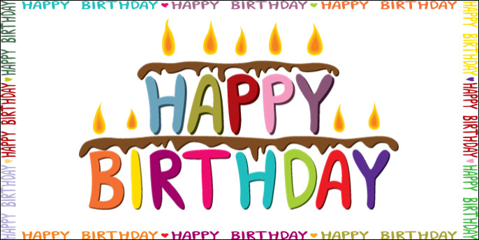 Happy Birthday Banner Template Download Gallery