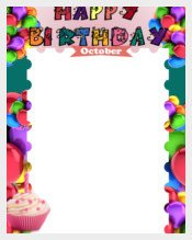 Happy Birthday Template Word Birthday Template – 351 Free Word Pdf Psd Eps Ai