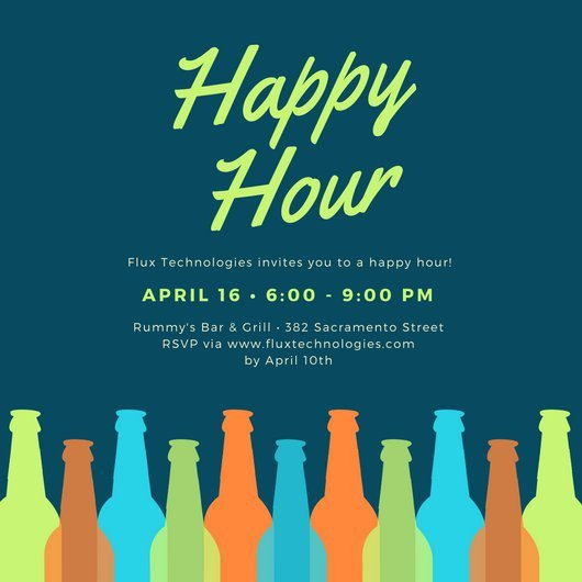 Happy Hour Invitation Template Happy Hour Invitation Templates Canva