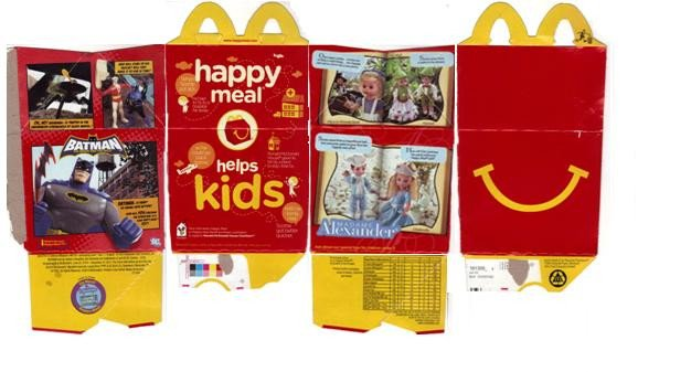 Happy Meal Box Template American Girl Doll Crafts and More