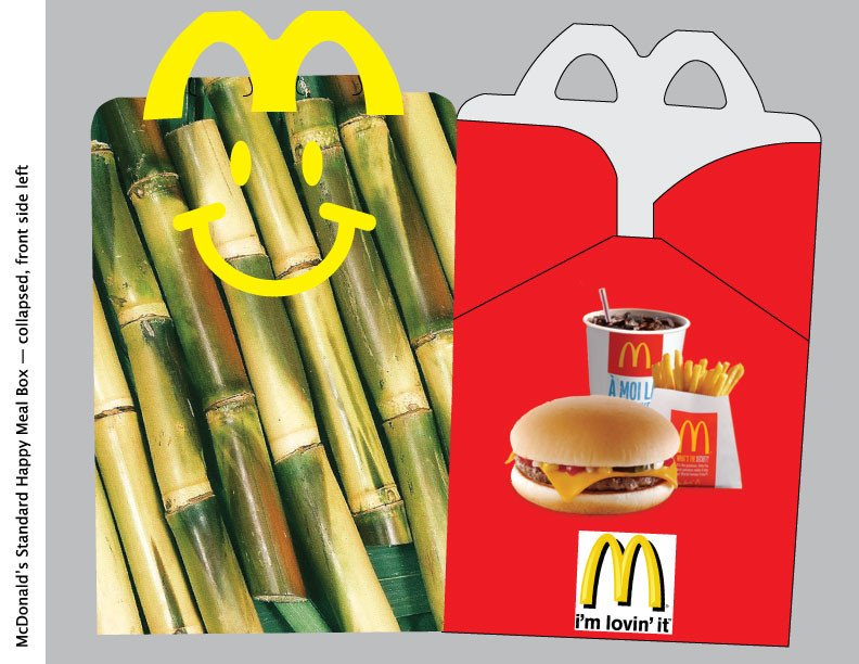 Happy Meal Box Template Blog Response 3 Cambodian Happy Meal Box the Art Of