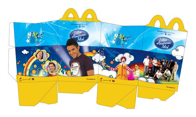 Happy Meal Box Template Noni S Crafts Mcdonalds Happy Meal Box for Dolls