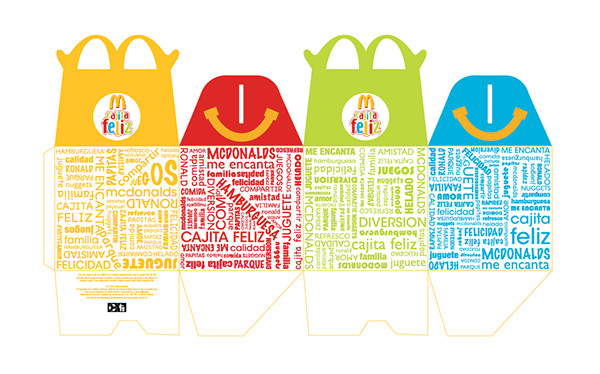 Happy Meal Box Template Packaging On Behance