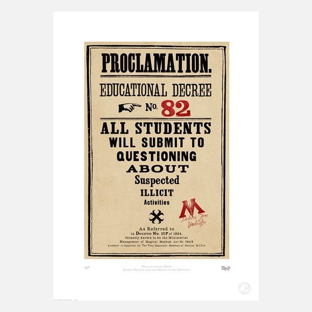 Harry Potter Proclamation Template 17 Best Images About A Harry Potter themed Playroom
