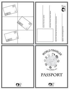 Health Fair Passport Template 1000 Ideas About Passport Template On Pinterest