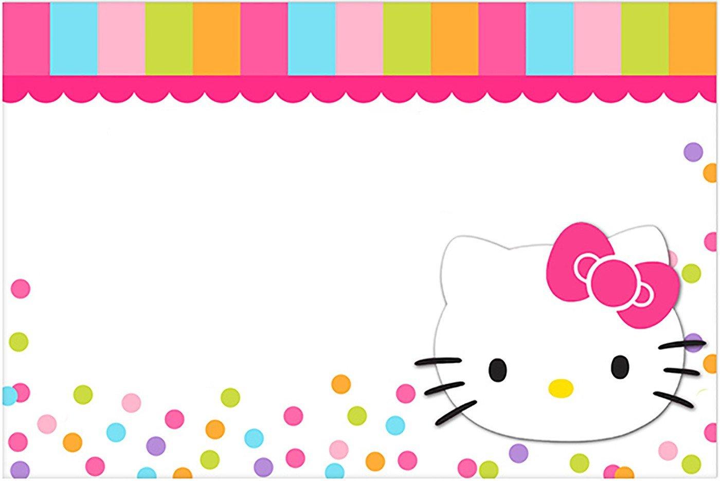 Hello Kitty Birthday Invitation Hello Kitty Free Printable Invitation Templates
