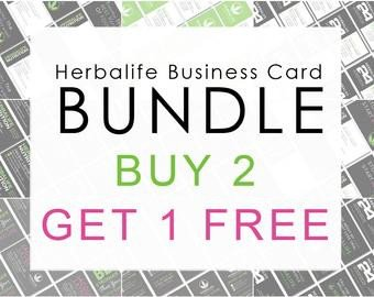 Herbalife Business Card Template Herbalife Business Cards – Etsy