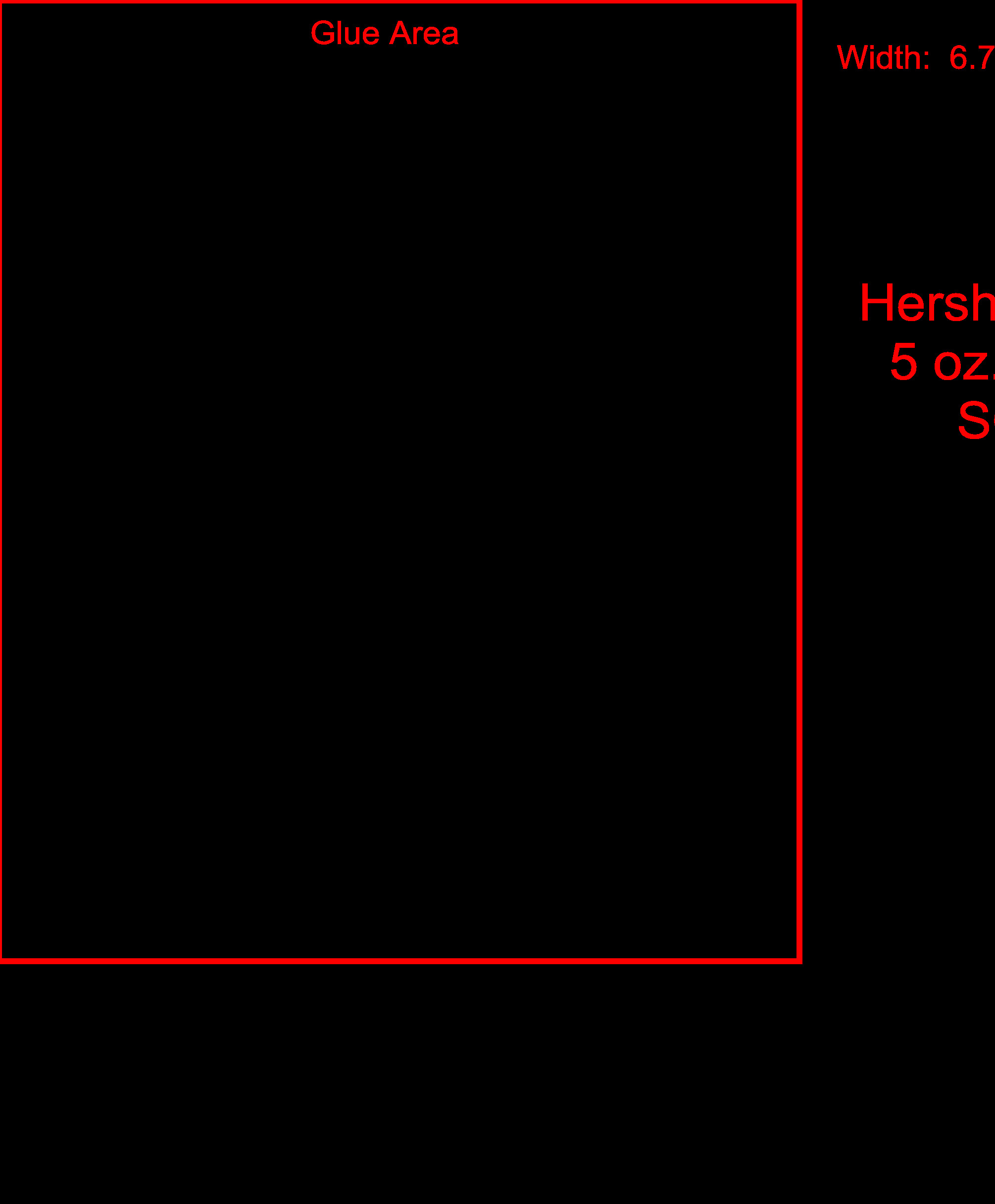 Hershey Candy Bar Wrapper Template Size