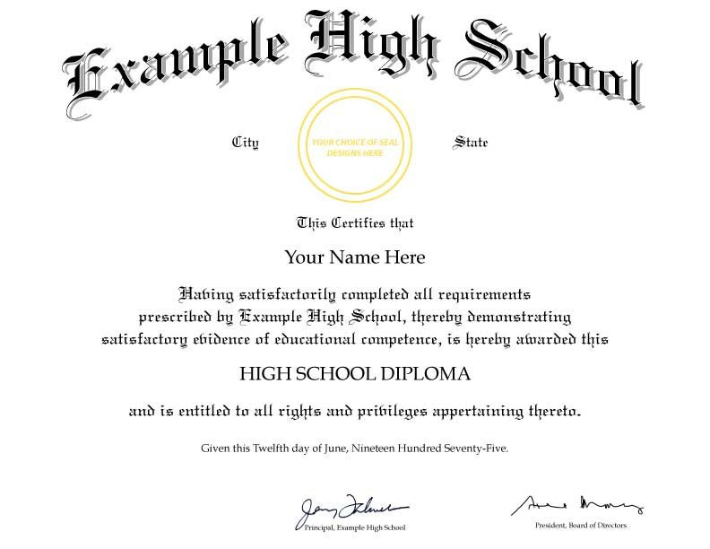 High School Diploma Template Pdf Fake Diploma Template D21 Cheaper Than Tuition