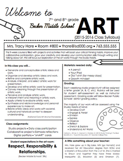 High School Syllabus Template Create A Syllabus that Your Students Will Actually Want to