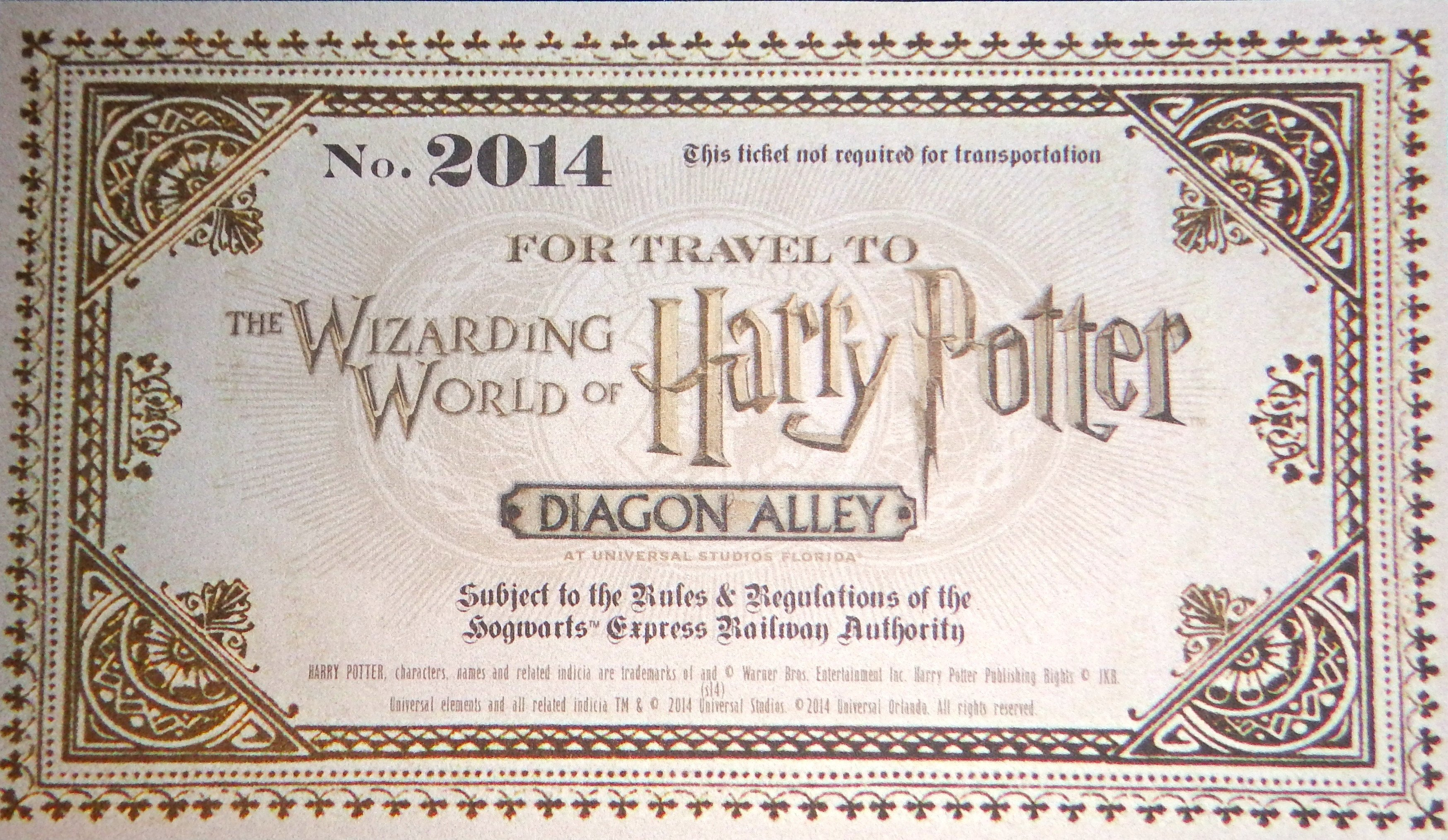 Hogwarts Express Ticket Template 7 Best Of Printable Train Ticket Harry Potter