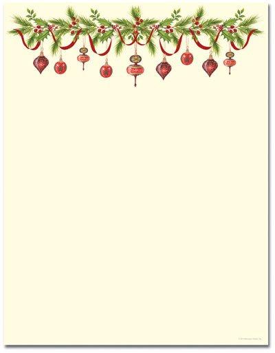 Holiday Stationary Templates Free Poinsettia Christmas Stationery and Stationery Templates