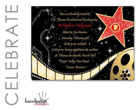 Hollywood themed Invitations Free Templates Red Carpet Invitation Hollywood Invitation Red Carpet