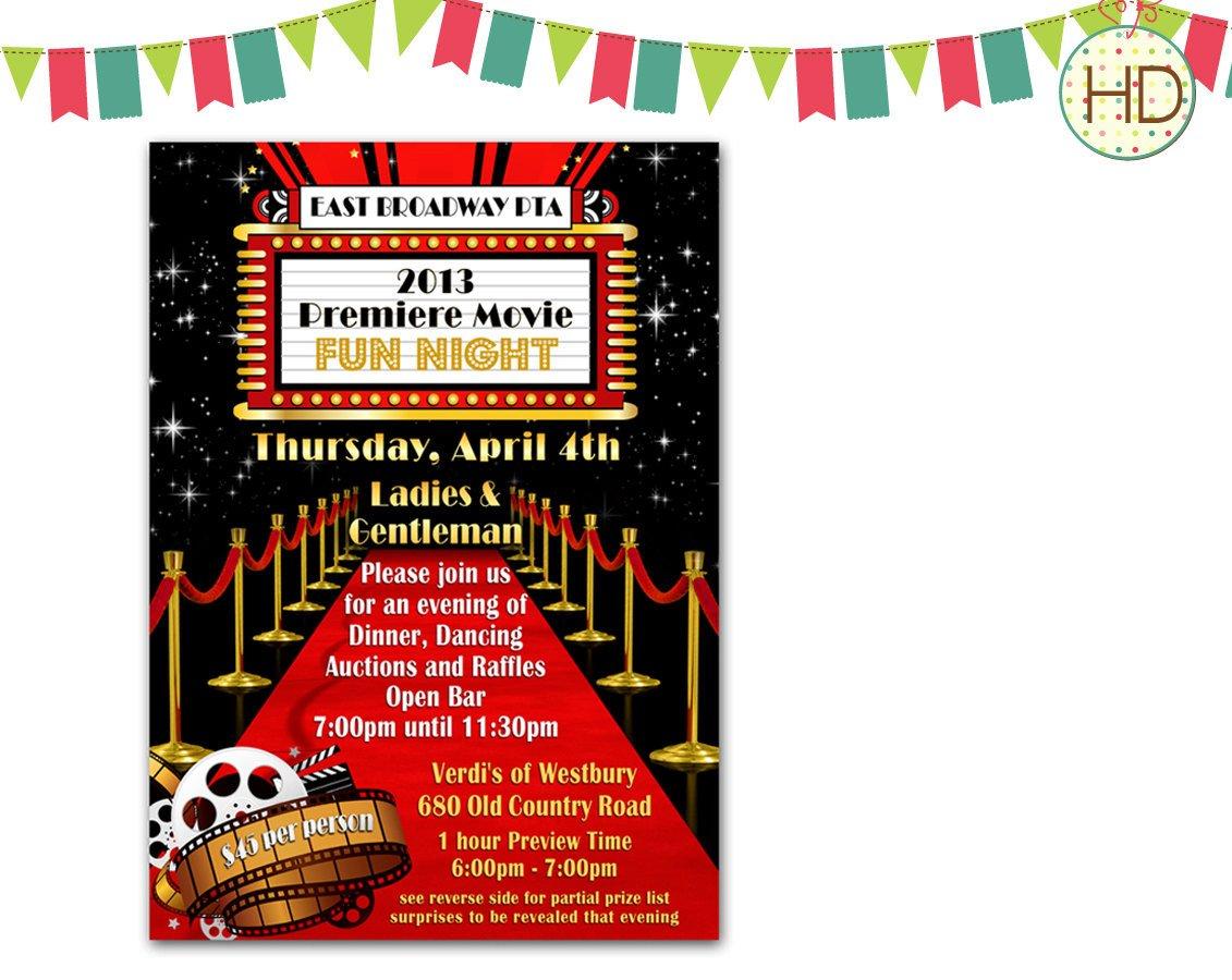 Hollywood themed Invitations Free Templates Red Carpet Invitation Hollywood Party Red Carpet by