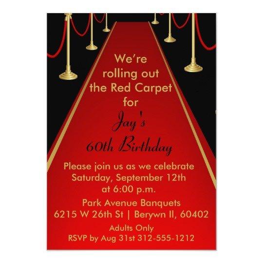 Hollywood themed Invitations Free Templates Red Carpet Invitation Hollywood theme Sweet 16
