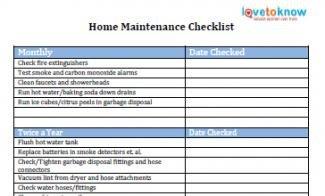 Home Maintenance Checklist Printable Printable to Do Lists to Get organized