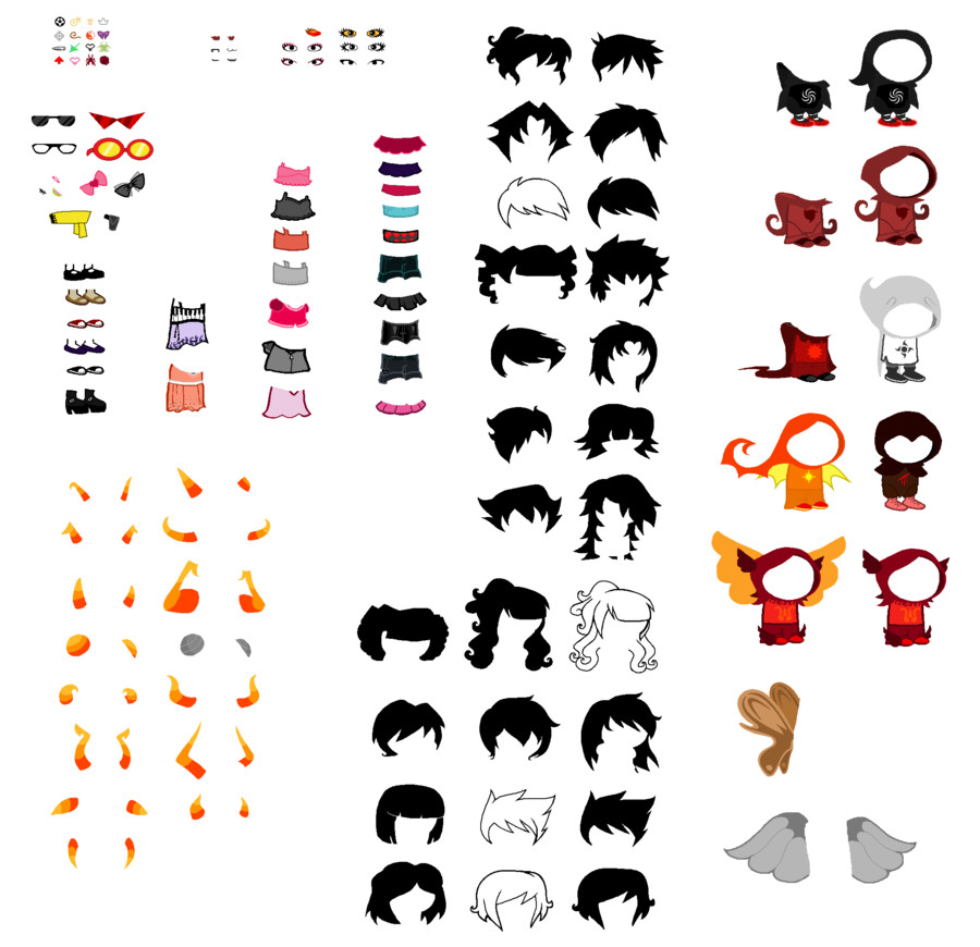 Homestuck Sprite Template Homestuck Character Sprite Sheet by Almightysponge On