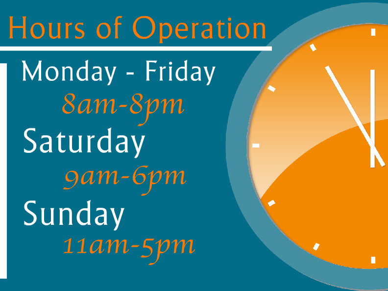 Hours Of Operation Template Hours Operation Templates