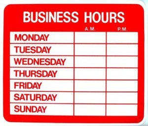 Hours Of Operation Template Work From Home Salon Hours Establishing Boundaries ask