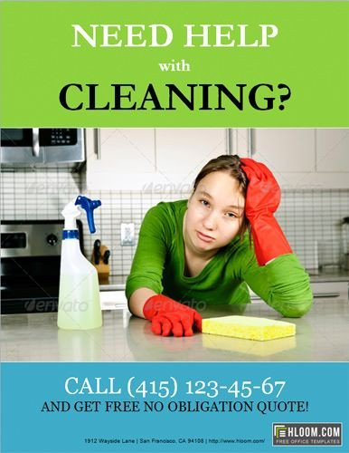 House Cleaning Flyers Templates Free 10 Best Free Flyer Templates Microsoft Word Images On