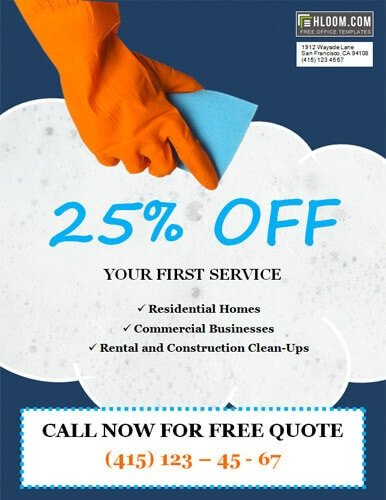 House Cleaning Flyers Templates Free 14 Free Cleaning Flyer Templates [house or Business]