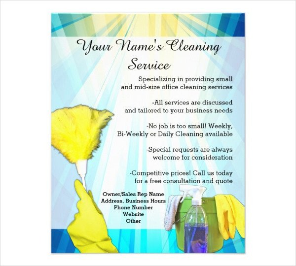 House Cleaning Flyers Templates Free 47 Printable Flyer Templates Psd Ai