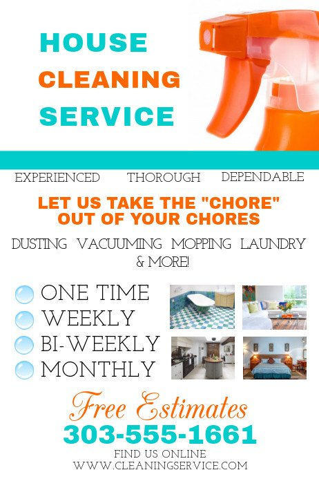 House Cleaning Service Template