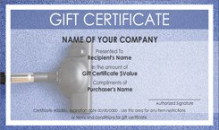 House Cleaning Service Gift Certificate Templates