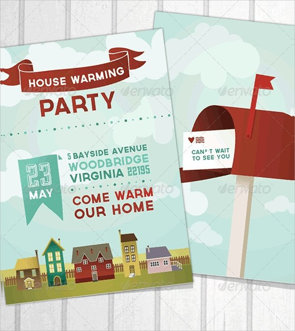 House Warming Party Invitation Template 19 Housewarming Invitation Templates Psd Vector Eps