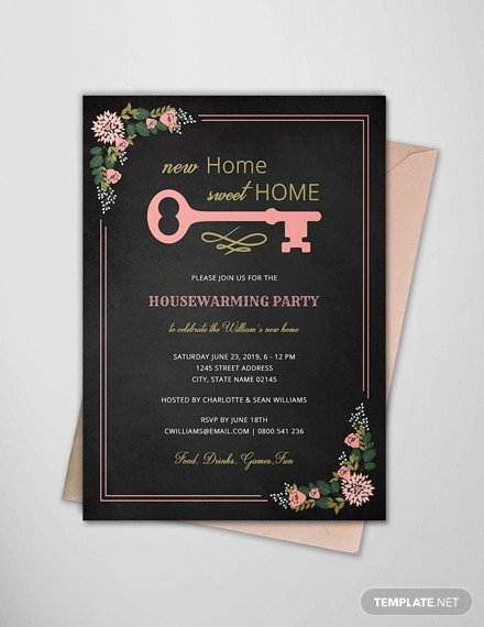 Housewarming Invitation Template Microsoft Word 19 Housewarming Invitation Designs Psd Ai