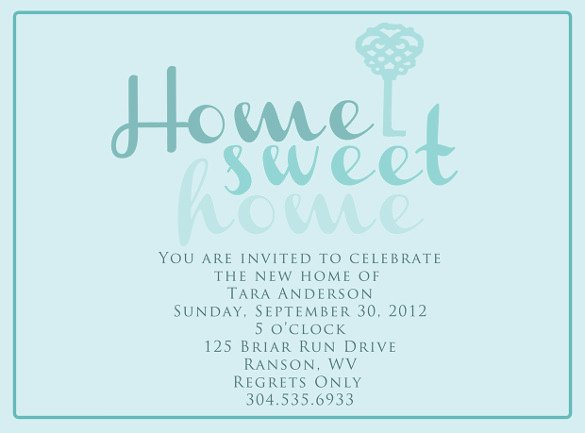 35 Housewarming Invitation Templates PSD Vector EPS