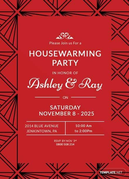 Housewarming Invitation Template Microsoft Word Free Housewarming Invitation Template Download 344