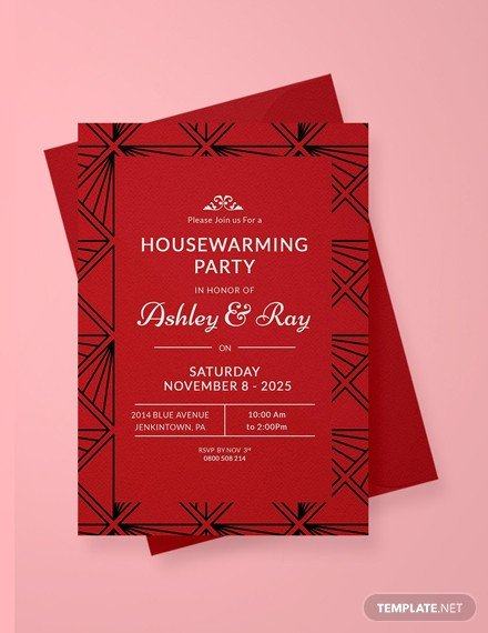 Housewarming Invitation Template Microsoft Word Free Housewarming Invitation Template Download 518