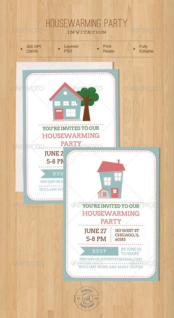 Housewarming Invitation Template Microsoft Word Housewarming Invitation Template – 30 Free Psd Vector