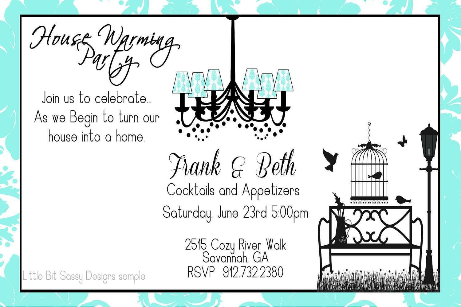 Housewarming Invitation Template Microsoft Word Housewarming Party Invitation Wording