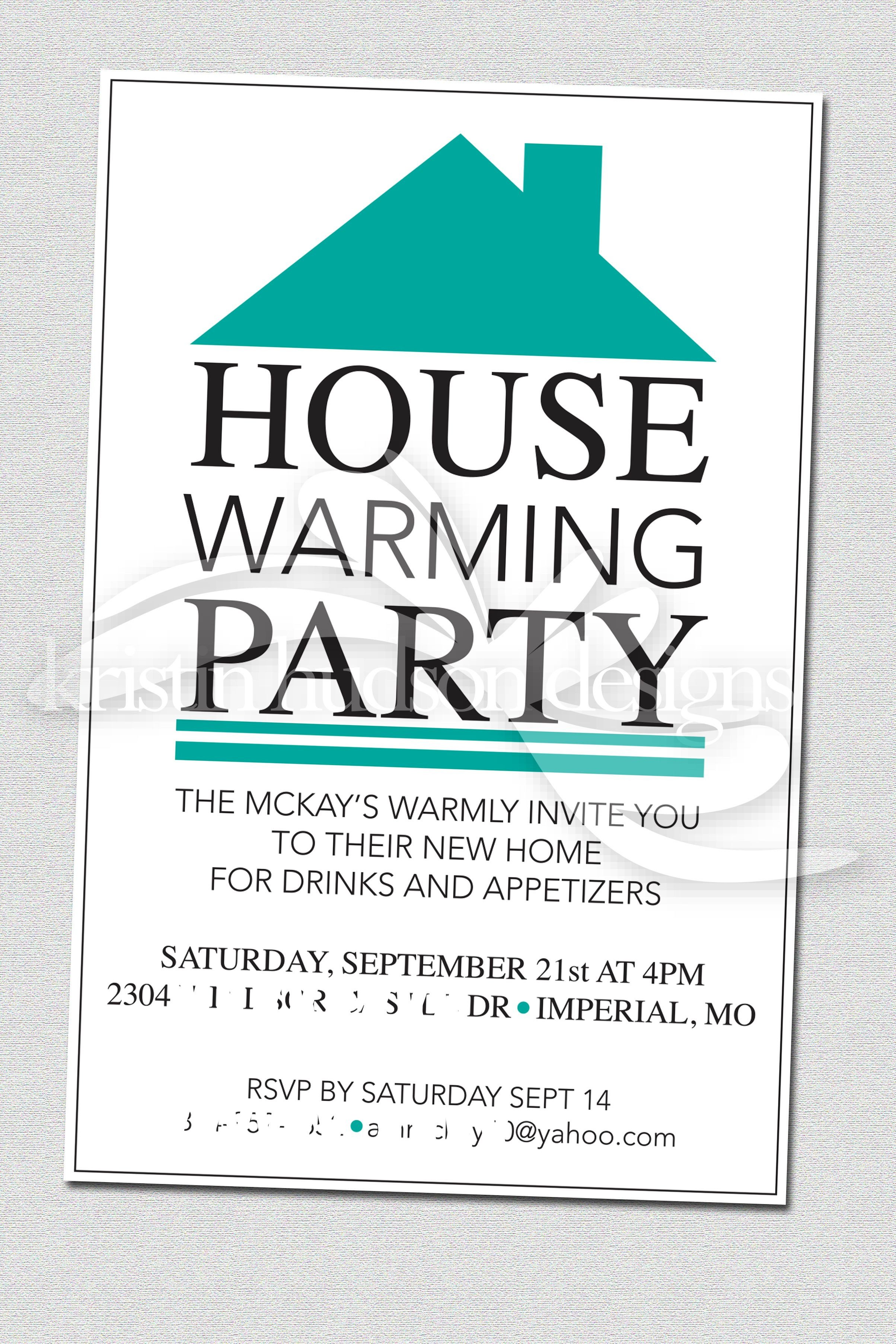 Housewarming Party Invitations Templates House Warming Party Invite