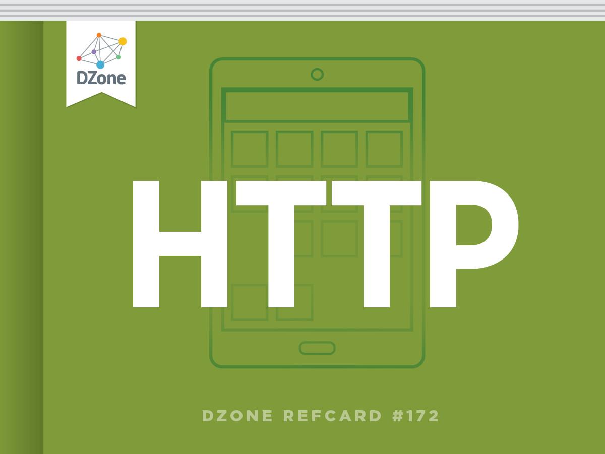 Http: Introduction to Http Dzone Refcardz