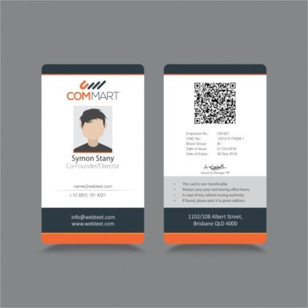 36 ID Card Templates PSD EPS AI Word