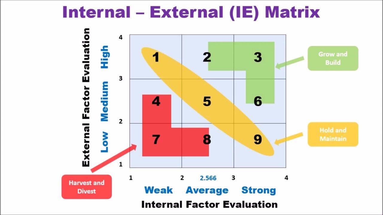 Ie Matrix Template Internal External Matrix