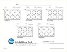 Ihsa Volleyball Lineup Sheet Usa Volleyball Line Up Sheet Volleyball