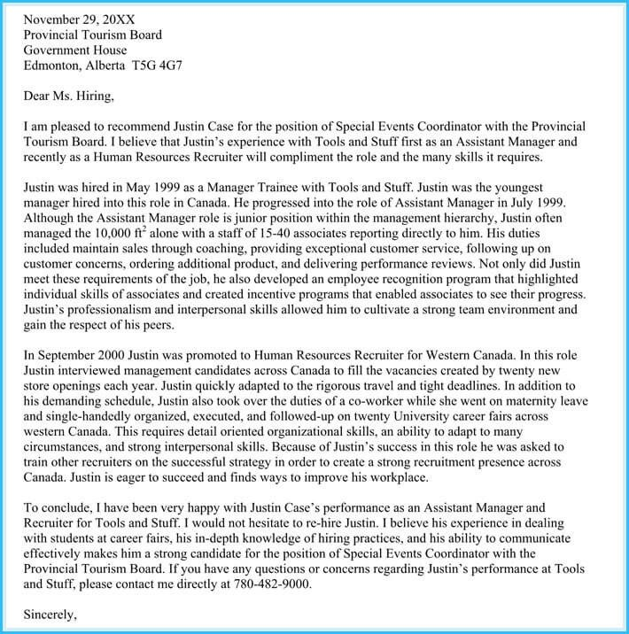 Immigration Recommendation Letter Sample Immigration Reference Letters 6 Samples & Templates