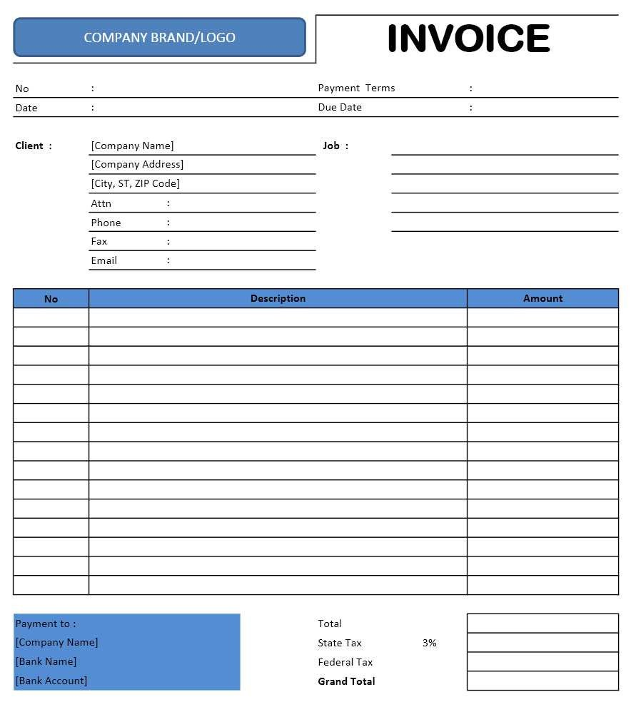 Invoice Template for Excel Freelance Invoice Template Excel Templates