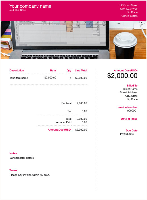 Invoice Template Google Sheets Free Google Docs Template Download & Customize