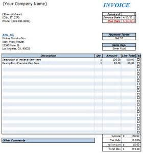 Invoice Templates for Macs Apple Invoice Template