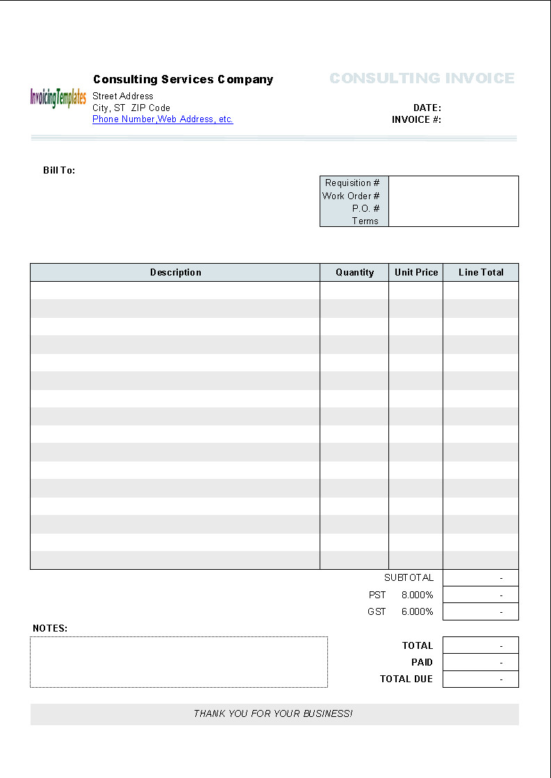 Invoice Templates for Macs Free Invoice Template for Mac Pages What You Know About